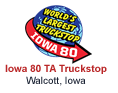 Iowa 80 Truckstop - Walcott Iowa
